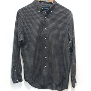 Ralph Lauren men's Long sleeve Button Down Size M